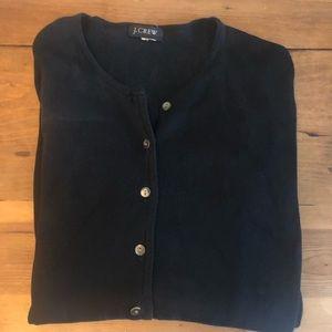 Vintage  Jcrew silk button down cardigan